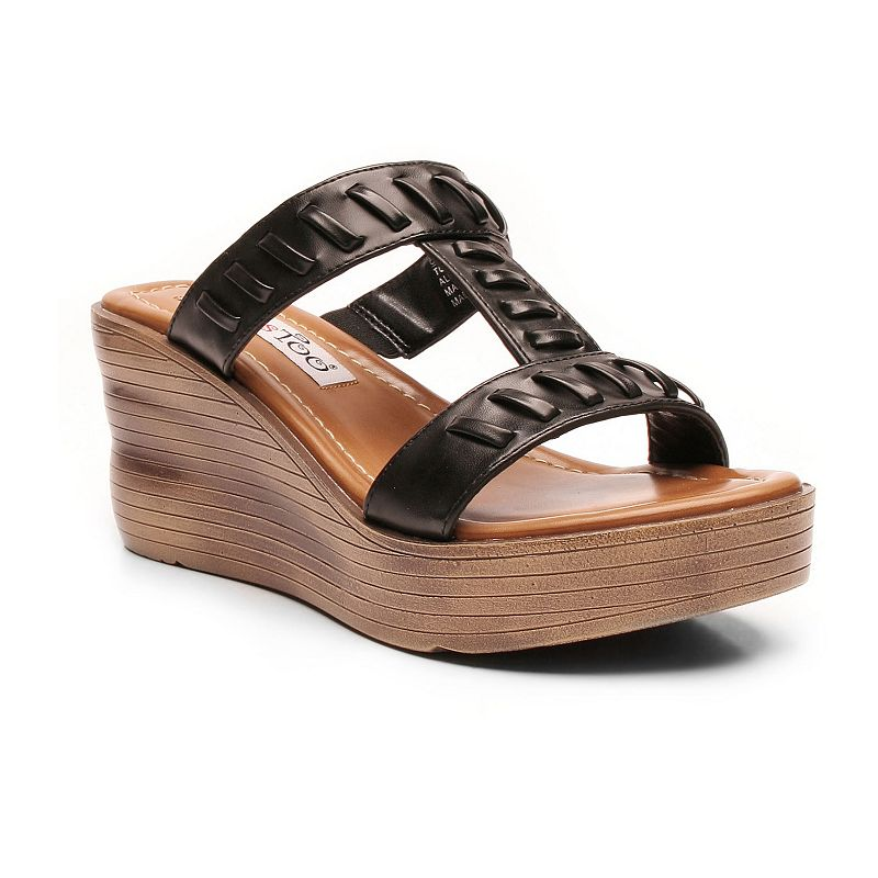 2 Lips Too Too Across Women's Wedge Sandals