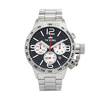 TW Steel Men's Canteen Stainless Steel Chronograph Watch - CB3