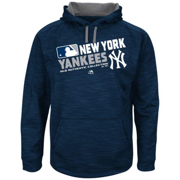 Men's Majestic New York Yankees AC Team Choice Hoodie