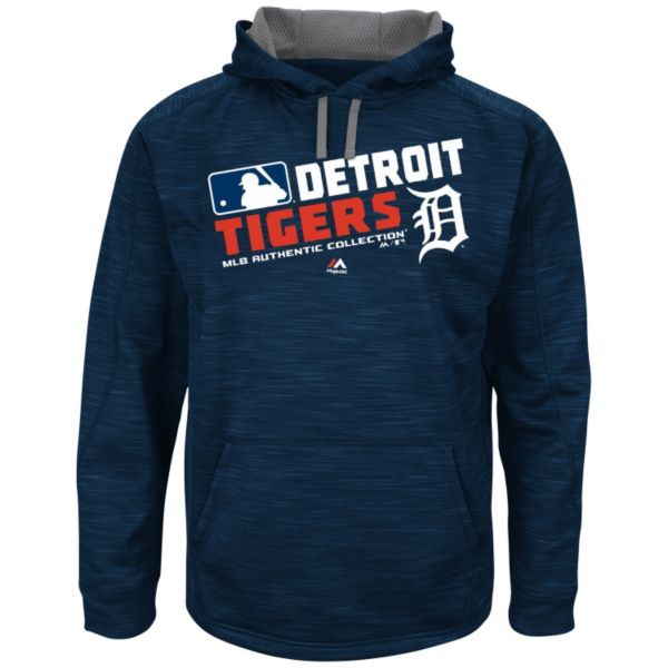Men's Majestic Detroit Tigers AC Team Choice Hoodie