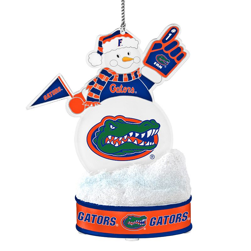 Florida Gators LED Snowman Ornament