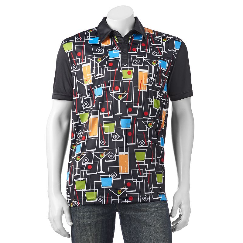 Men's Loudmouth Golf Happy Hour Polo