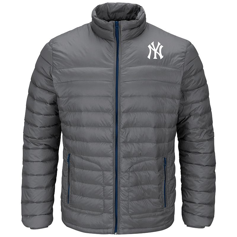 Men's Majestic New York Yankees Train To Win Puffer Jacket
