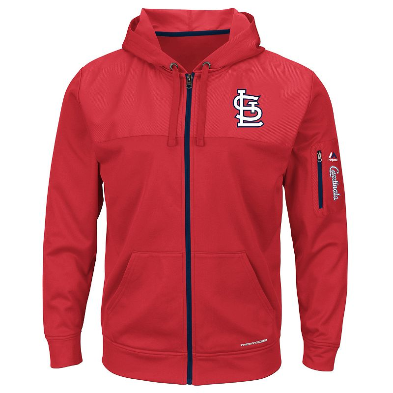 Men's Majestic St. Louis Cardinals Payback Moment Fleece Jacket