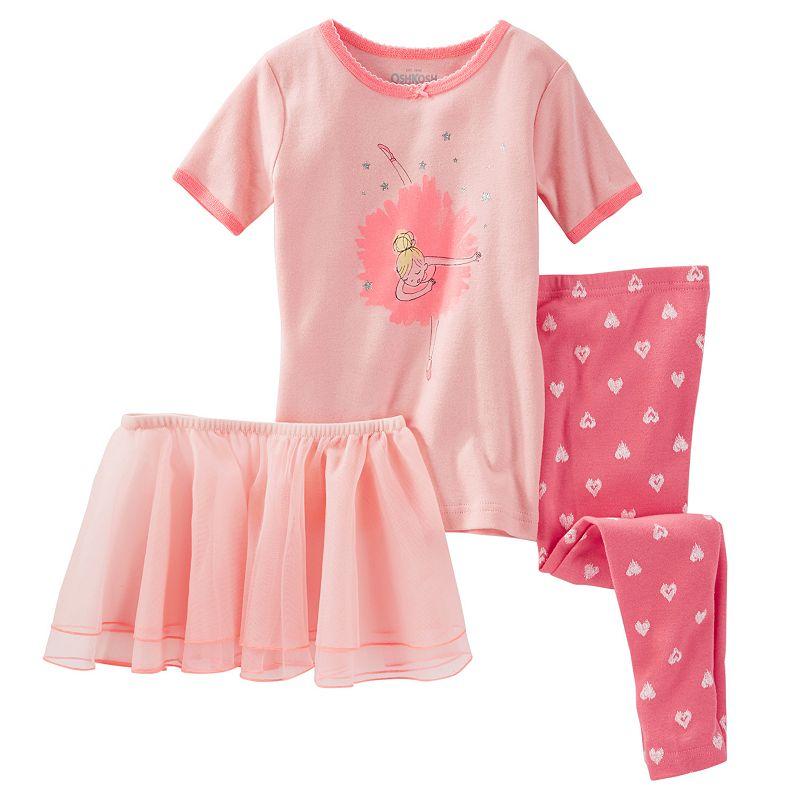 Girls 4-12 OshKosh B'gosh® Ballerina Pajama Set