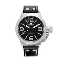 TW Steel Men's Canteen Leather Watch