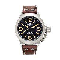 TW Steel Men's Canteen Leather Watch - CS31