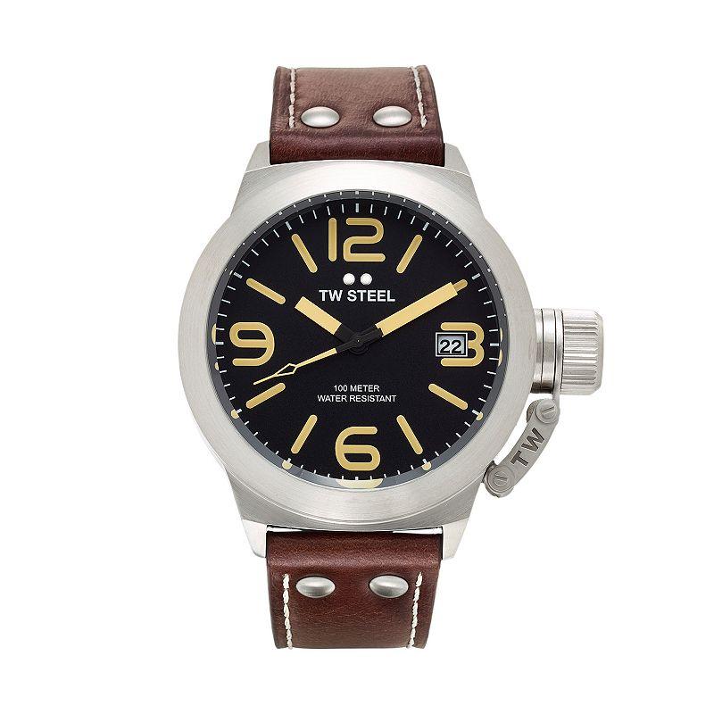 TW Steel Men's Canteen Leather Watch - CS31
