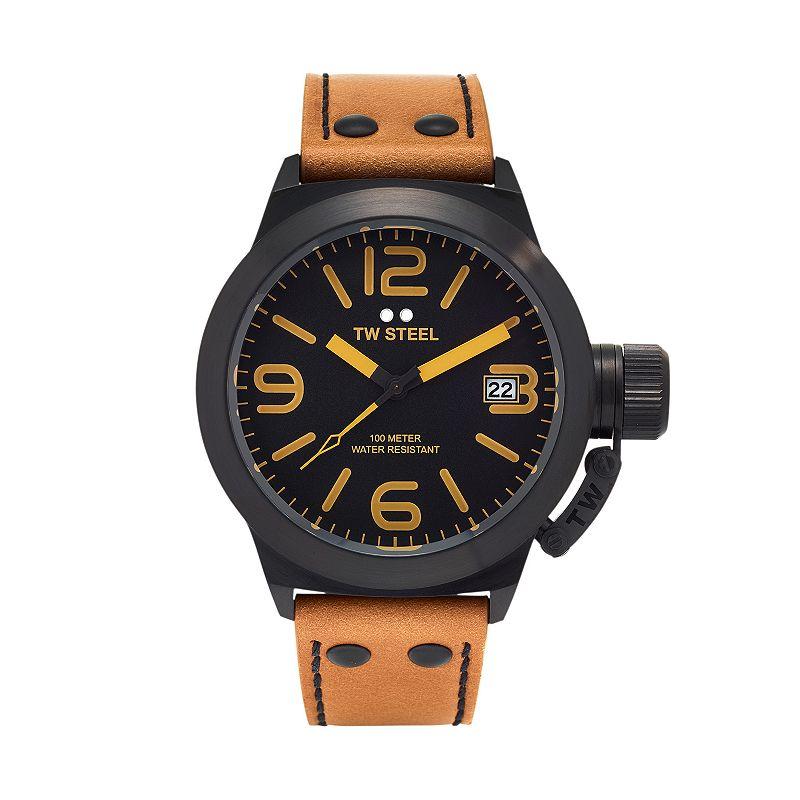 TW Steel Men's Canteen Leather Watch - CS41
