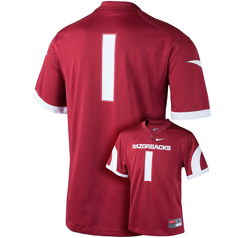 Boys 8-20 Nike Arkansas Razorbacks Replica Football Jersey