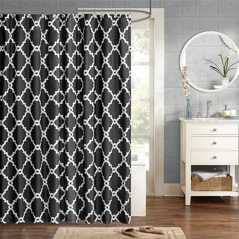 Madison Park Essentials Trellis Shower Curtain