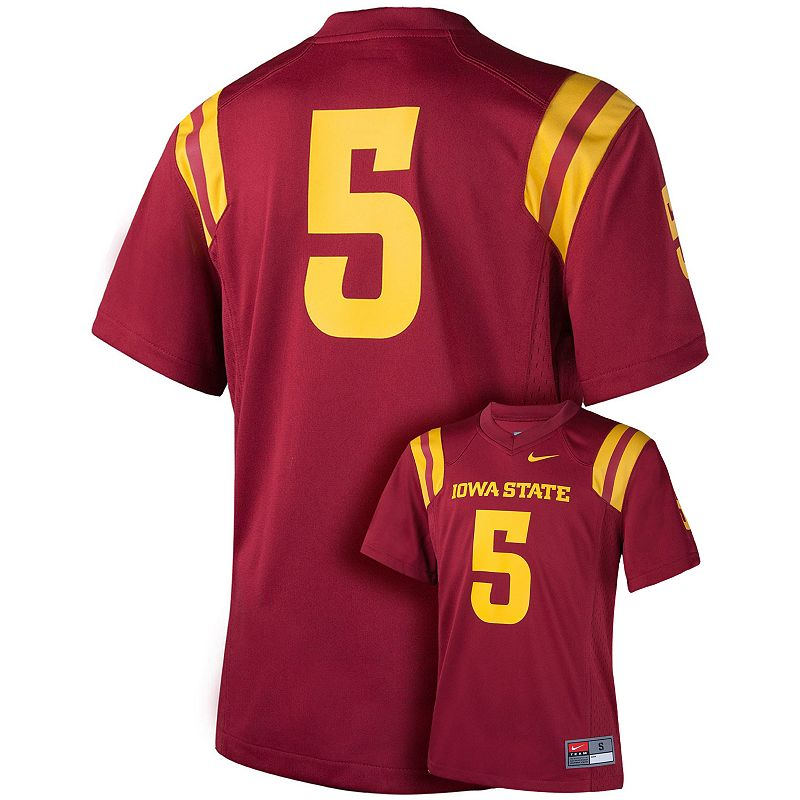 Boys 8-20 Nike Iowa State Cyclones Replica Football Jersey