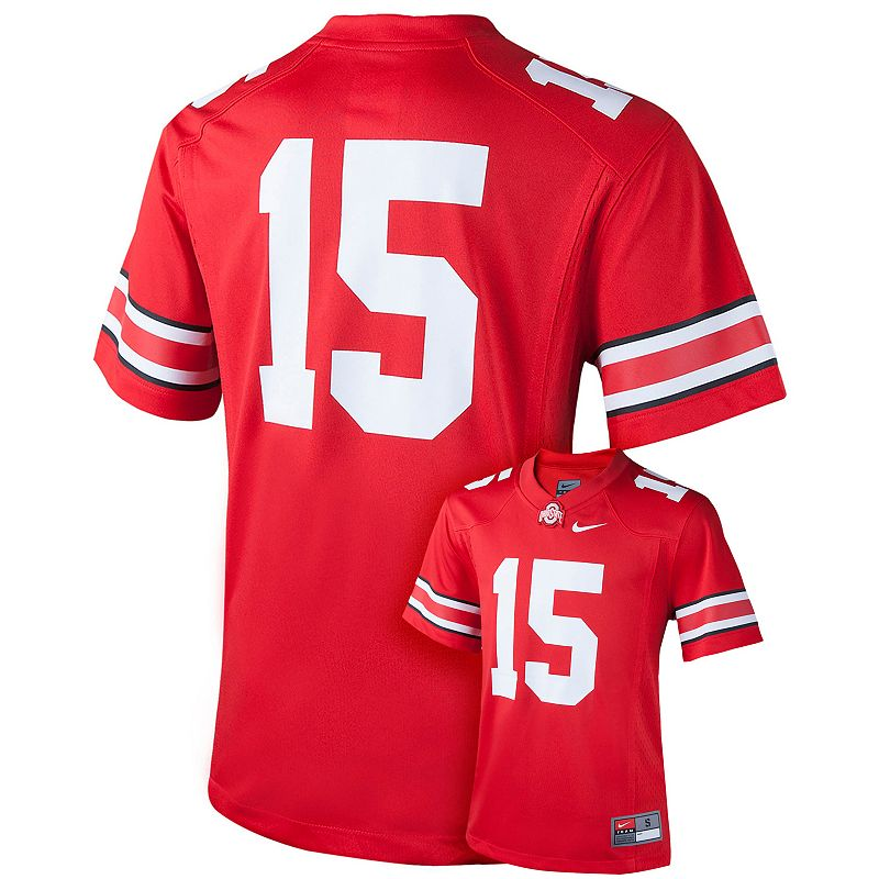 Boys 8-20 Nike Ohio State Buckeyes Replica Football Jersey