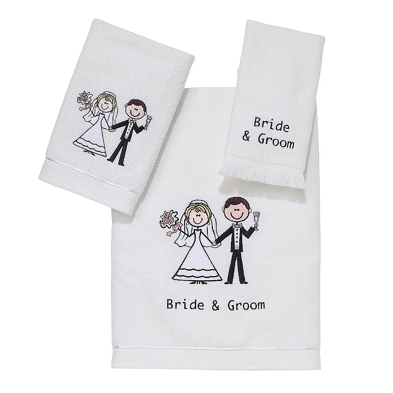 Avanti ''Bride & Groom'' Towel