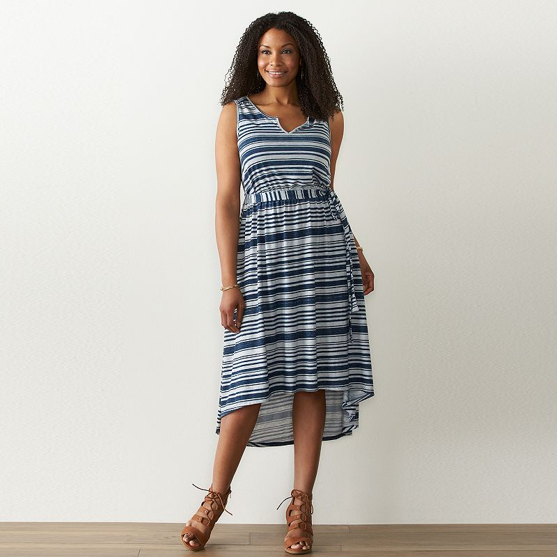 Plus Size SONOMA Goods for Life™ High-Low Dress