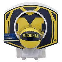 Baden Michigan Wolverines Mini Basketball Hoop & Ball Set