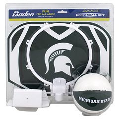 Baden Michigan State Spartans Mini Basketball Hoop & Ball Set by