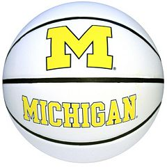 Baden Michigan Wolverines Official Autograph Basketball by
