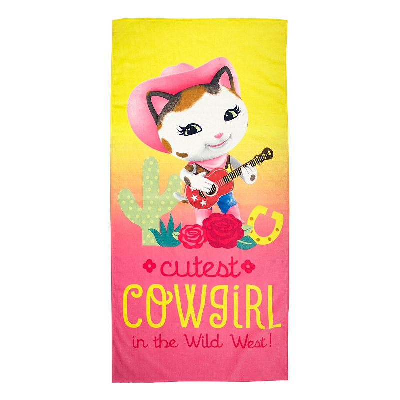 Disney Jr. Sheriff Callie Wild West Beach Towel
