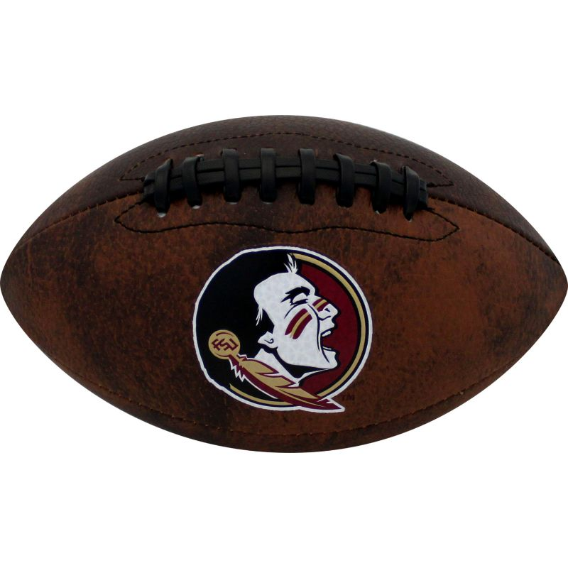 Baden Florida State Seminoles Mini Vintage Football, Brown thumbnail