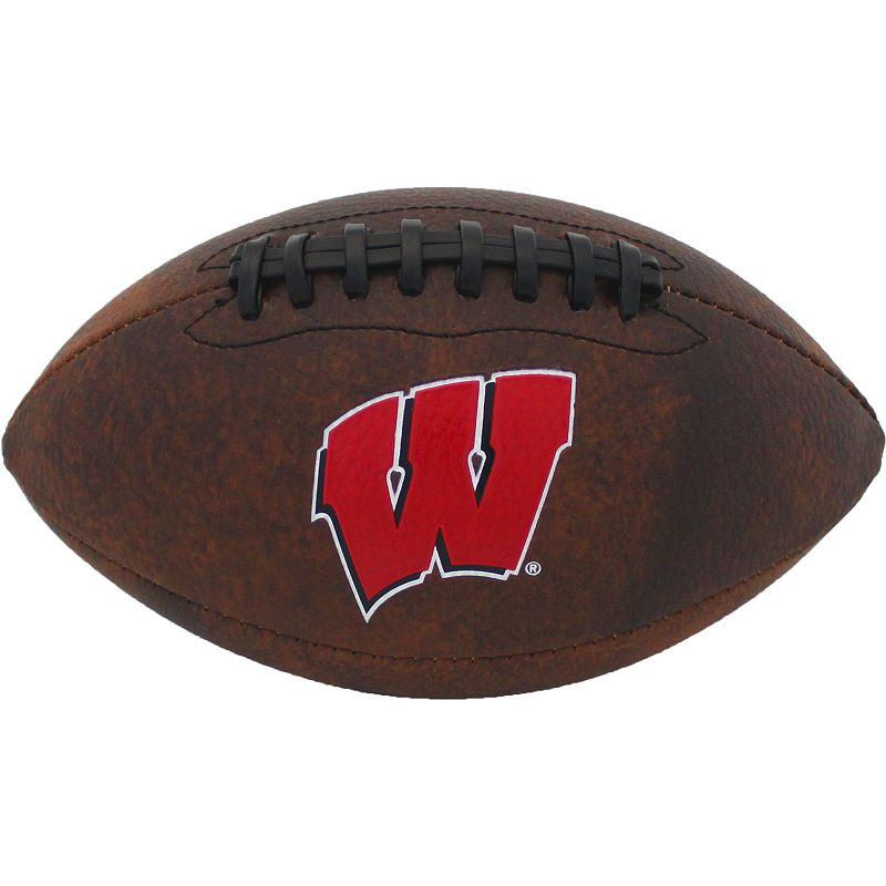 Baden Wisconsin Badgers Mini Vintage Football