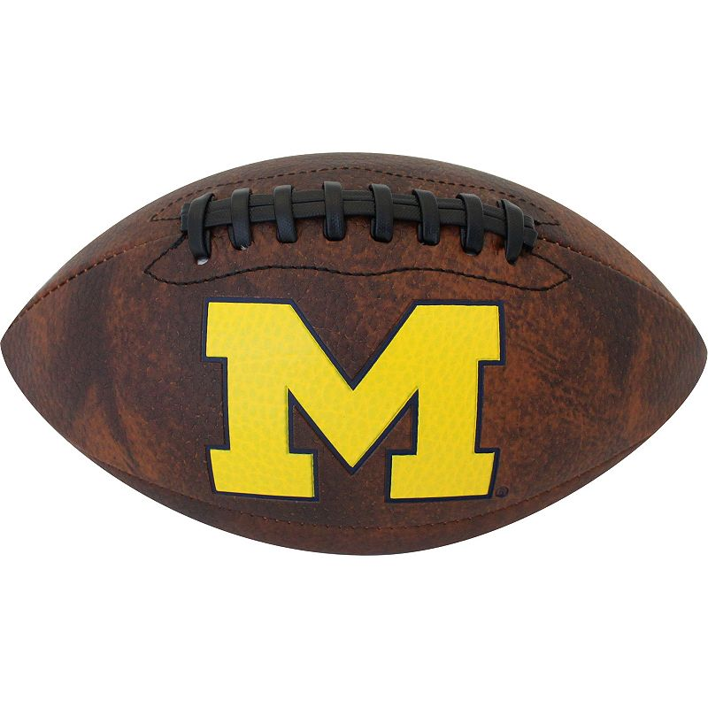 Baden Michigan Wolverines Vintage Mini Football