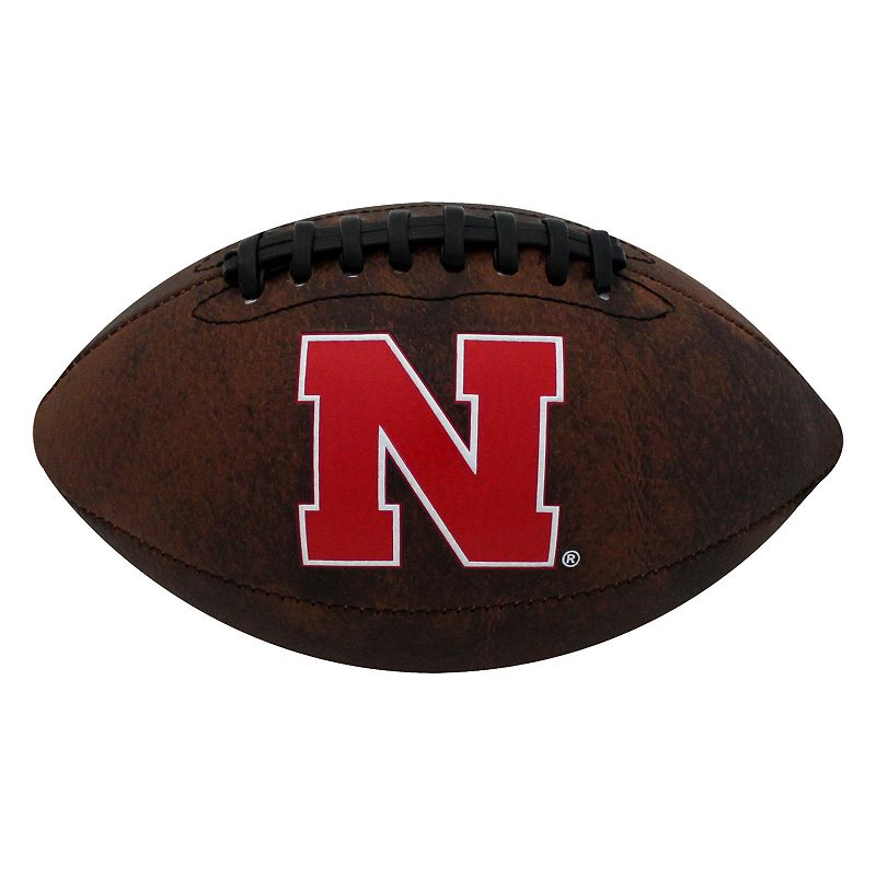 Baden Nebraska Cornhuskers Mini Vintage Football