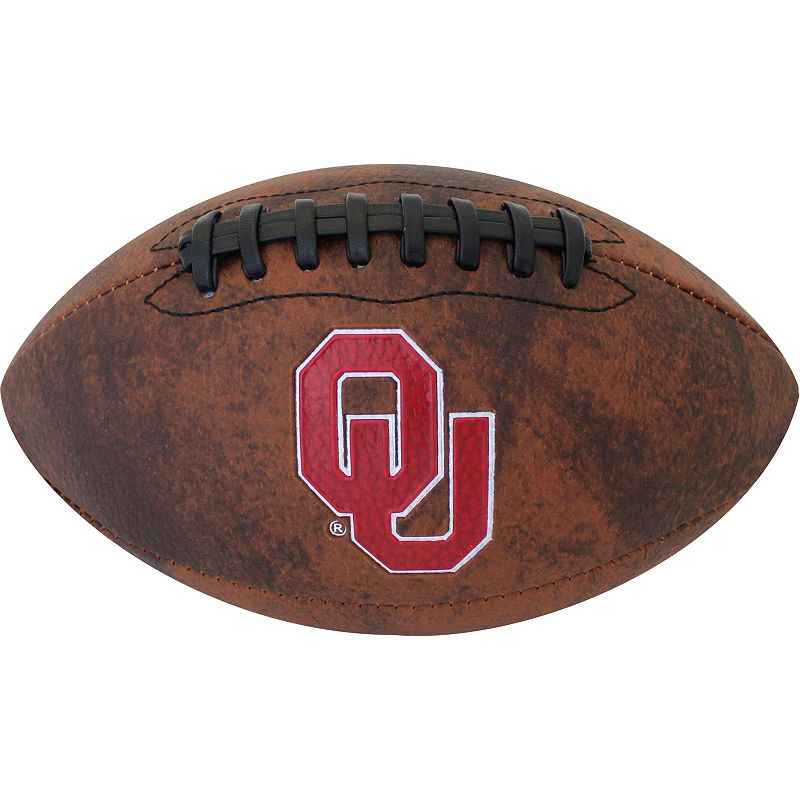 Baden Oklahoma Sooners Vintage Mini Football