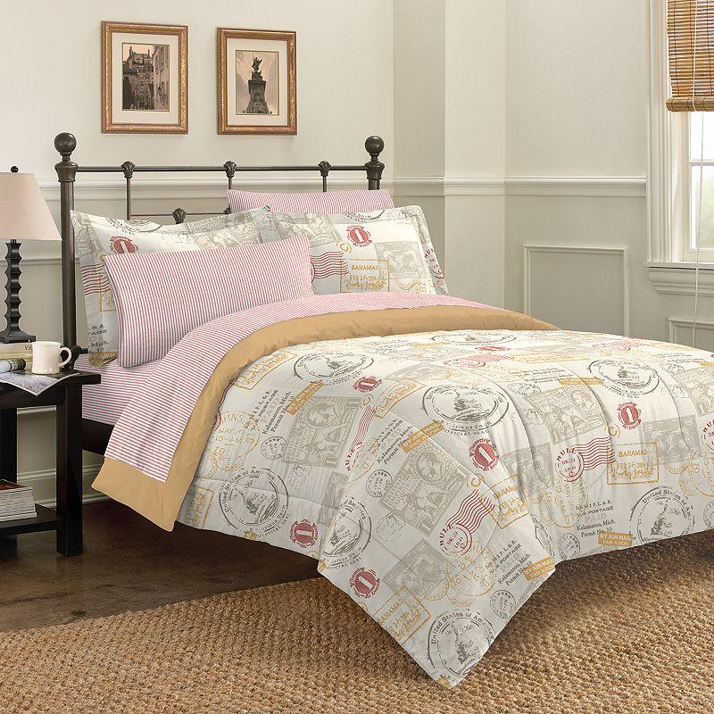 Discoveries World Traveler Bed In A Bag Comforter Set