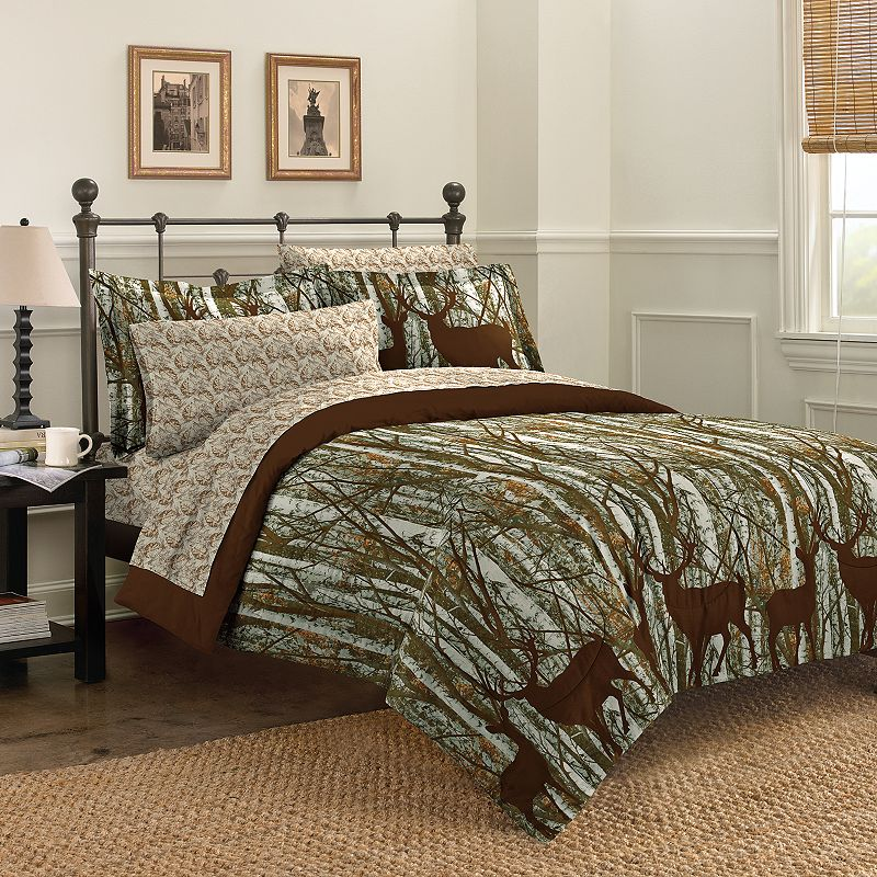 Discoveries Forest Bed In A Bag Comforter Set