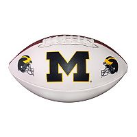 Baden Michigan Wolverines Official Autograph Football