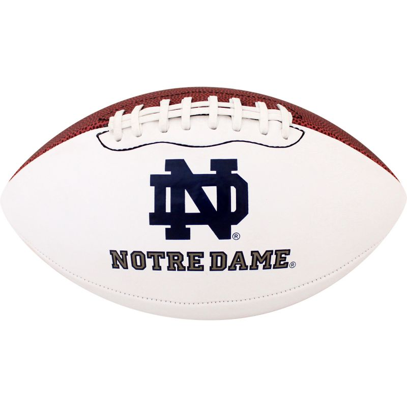 Baden Notre Dame Fighting Irish Official Autograph Football, White thumbnail