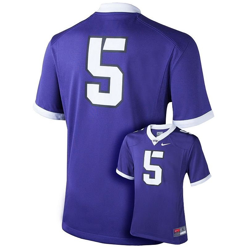 Boys 8-20 Nike TCU Horned Frogs Replica Football Jersey