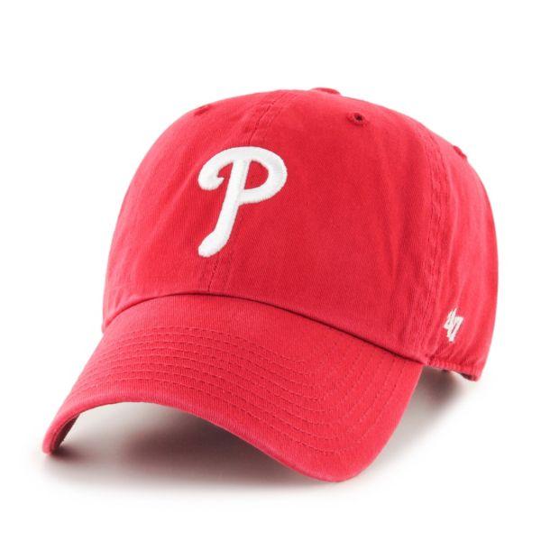 Adult Philadelphia Phillies Garment Washed Baseball Cap