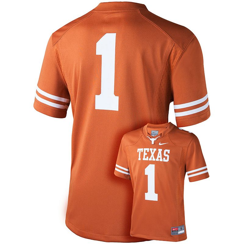 Boys 8-20 Nike Texas Longhorns Replica Football Jersey
