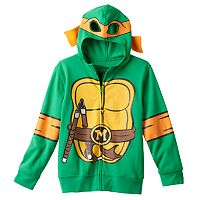 Boys 4-7 Teenage Mutant Ninja Turtles Michelangelo Hoodie