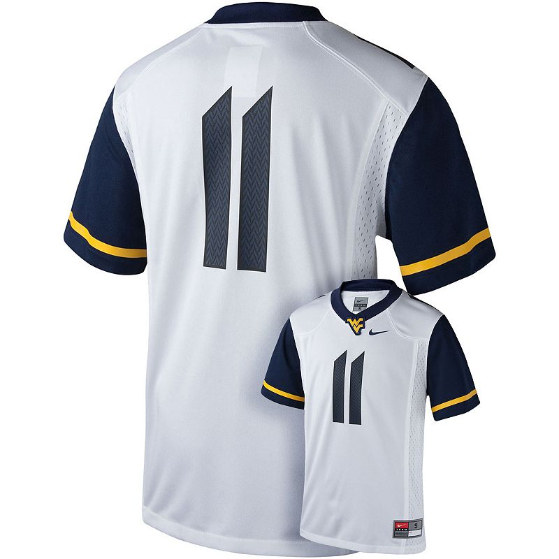 Boys 8-20 Nike West Virginia Mountaineers Replica Football Jersey
