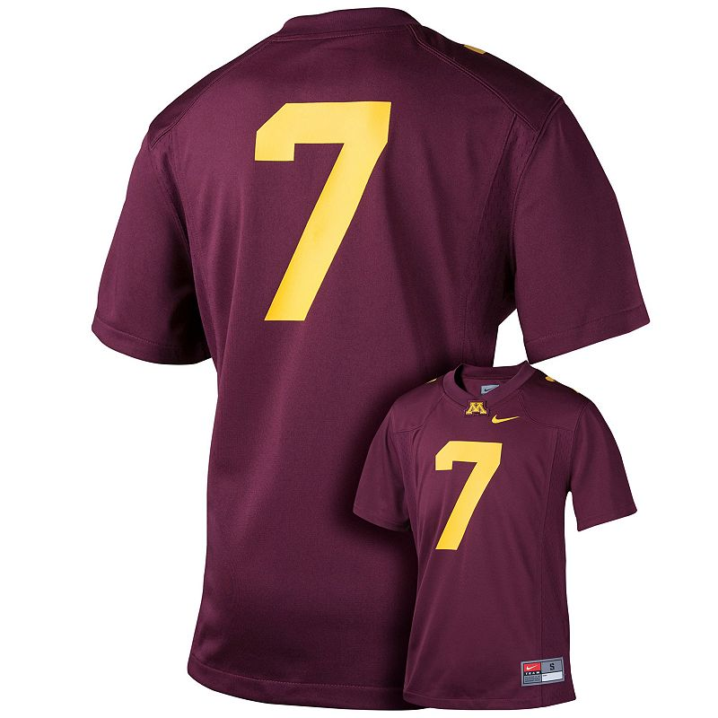 Boys 8-20 Nike Minnesota Golden Gophers Replica Football Jersey