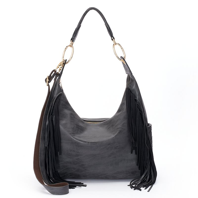 Mellow World Gloria Fringed Convertible Satchel