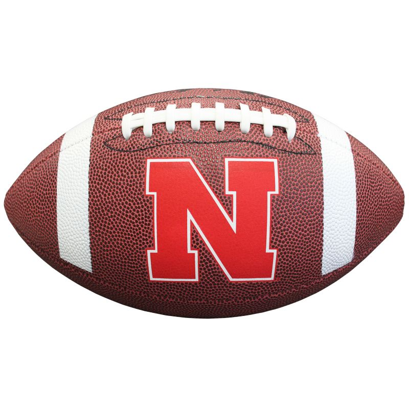 Baden Nebraska Cornhuskers Official Football, Brown thumbnail
