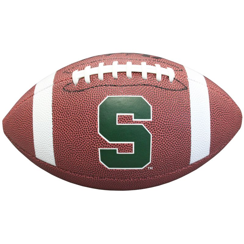 Baden Michigan State Spartans Official Football, Brown thumbnail