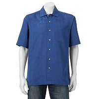Men's Batik Bay Silk Blend Button-Down Shirt
