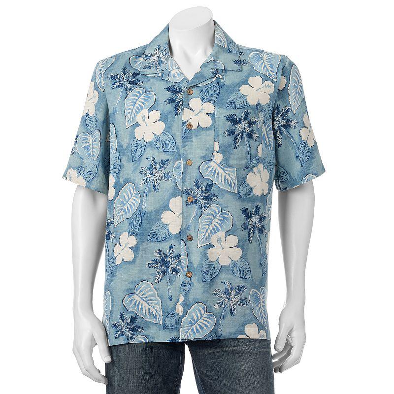 men 39 s batik bay silk blend button down shirt dealtrend