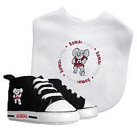 Baby Fanatic Alabama Crimson Tide Bib & Shoes Set