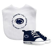 Baby Fanatic Penn State Nittany Lions Bib & Shoes Set