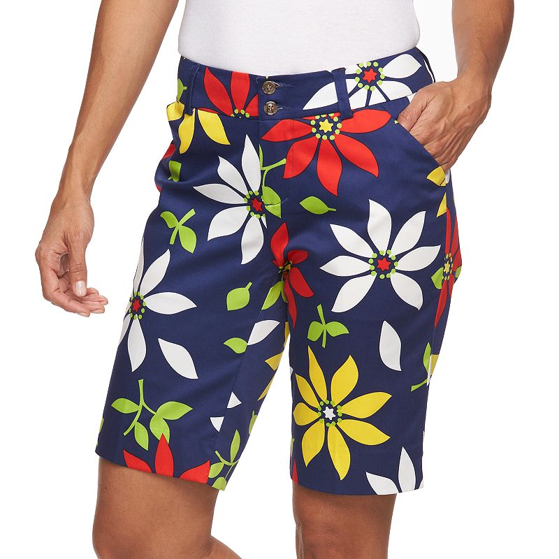 Women's Loudmouth Golf She Loves Me Not Bermuda Golf Shorts