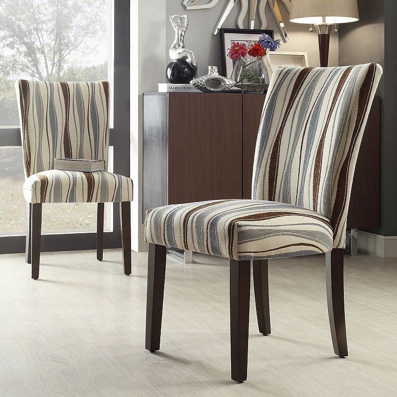 HomeVance Denargo 2-pc. Printed Side Chairs