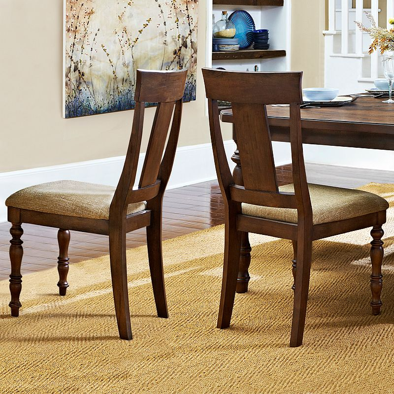 HomeVance Jenkins 2-pc. Elegant Side Chair Set