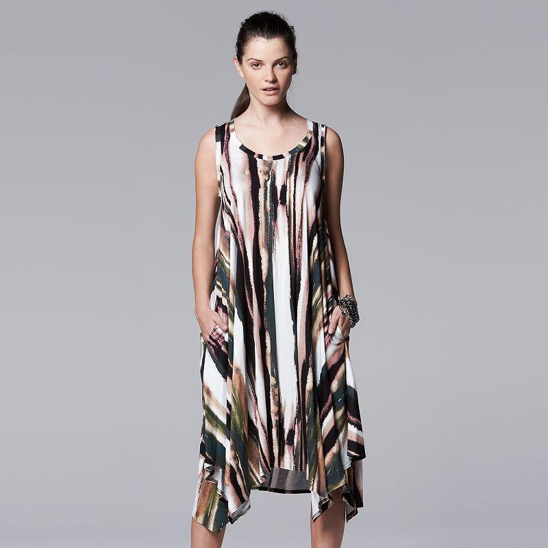 Women's Simply Vera Vera Wang Print Shift Dress