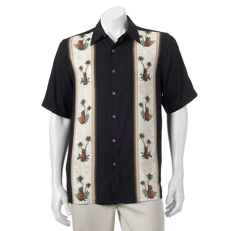 Men's Batik Bay Tropical Casual Button-Down Shirt